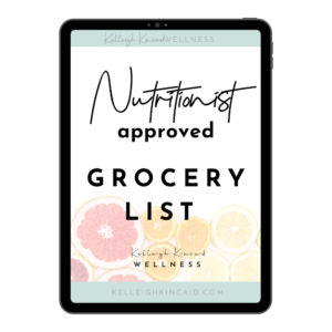 NUTRITIONIST GROCERY LSIT